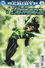 Green Lanterns (2016-Present) #2 Variant B: Variant Cover
