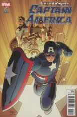 Captain America Steve Rogers #3 Variant C: Incentive Variant Cover