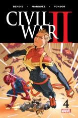 Civil War II (2016) #4 Variant A