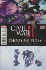 Civil War II: Choosing Sides (2016) #3 Variant A