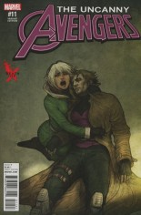 Uncanny Avengers (2015-Present) #11 Variant C: Death of X Cover