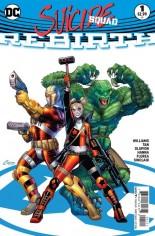 Suicide Squad: Rebirth #1 Variant B: Variant Cover