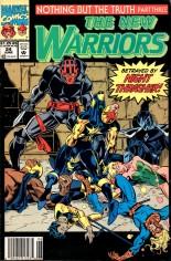 New Warriors (1990-1996) #24 Variant A: Newsstand Edition