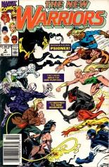 New Warriors (1990-1996) #4 Variant A: Newsstand Edition