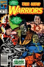 New Warriors (1990-1996) #21 Variant A: Newsstand Edition
