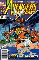 Avengers West Coast (1989-1994) #68 Variant A: Newsstand Edition