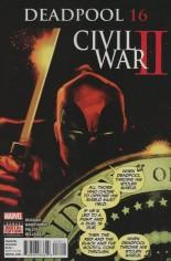 Deadpool (2016-2017) #16 Variant A