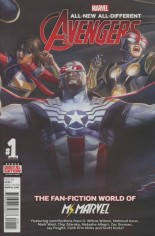 All-New, All-Different Avengers (2016-Present) #Annual 1 Variant A: Linking 2 Cover
