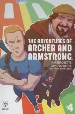 Adventures Of Archer And Armstrong #4 Variant B: Variant Cover