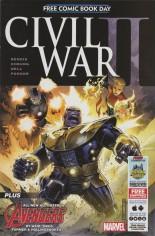 Civil War II (FCBD 2016) #1 Variant B: Free Comic Book Day 2016 Midtown Comics Exclusive Edition