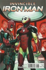 Invincible Iron Man (2015-2016) #1 Variant ZJ: Hastings Variant