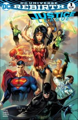 Justice League (2016-2018) #1 Variant I: Most Good Hobby Exclusive Color Variant Cover