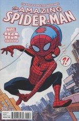 Amazing Spider-Man (2015-2017) #16 Variant B: Marvel Tsum Tsum Takeover Cover