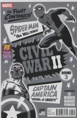 Civil War II (2016) #3 Variant G: SDCC 2016 Exclusive Black & White Cover