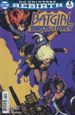 Batgirl and the Birds of Prey (2016-2018) #1 Variant B: Variant Cover
