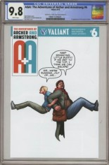 Adventures Of Archer And Armstrong #6 Variant D: Valiant x CGC Replica Cover