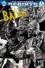 All-Star Batman (2016-2017) #1 Variant G: 4th World Comics Exclusive Black & White Variant