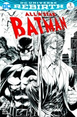 All-Star Batman (2016-2017) #1 Variant I: Midtown Exclusive Black & White Variant Cover