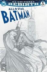 All-Star Batman (2016-2017) #1 Variant K: AspenStore.com Exclusive Sketch Variant Cover