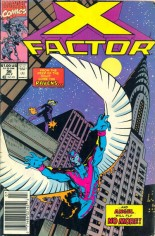 X-Factor (1986-1998) #56 Variant A: Newsstand Edition