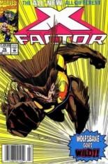X-Factor (1986-1998) #76 Variant A: Newsstand Edition