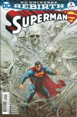 Superman (2016-2018) #5 Variant B: Variant Cover