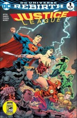 Justice League (2016-2018) #1 Variant O: Comic Hero U/Comic Madness Variant Cover