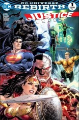 Justice League (2016-2018) #1 Variant Q: Dynamic Forces Variant Cover