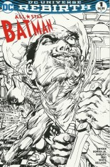 All-Star Batman (2016-2017) #1 Variant N: Newbury Comics B&W Cover