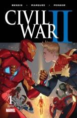 Civil War II (2016) #1 Variant X: 2nd Printing