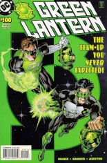 Green Lantern (1990-2004) #100 Variant B: Double Cover; Direct Edition