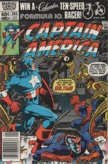 Captain America (1968-1996) #265 Variant A: Newsstand Edition