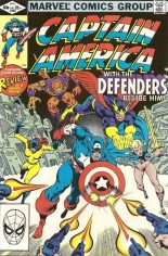Captain America (1968-1996) #268 Variant B: Direct Edition
