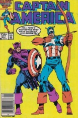Captain America (1968-1996) #317 Variant A: Newsstand Edition