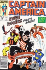 Captain America (1968-1996) #337 Variant A: Newsstand Edition