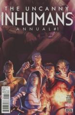 Uncanny Inhumans (2015-Present) #Annual 1 Variant A