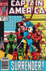 Captain America (1968-1996) #345 Variant A: Newsstand Edition