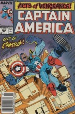 Captain America (1968-1996) #366 Variant A: Newsstand Edition