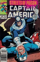 Captain America (1968-1996) #374 Variant A: Newsstand Edition
