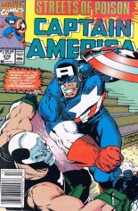 Captain America (1968-1996) #378 Variant A: Newsstand Edition