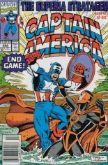 Captain America (1968-1996) #392 Variant A: Newsstand Edition