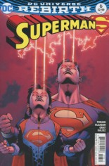 Superman (2016-2018) #6 Variant A