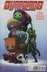 Guardians of the Galaxy (2015-2017) #11 Variant B: Marvel Tsum Tsum Takeover Cover