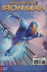 Invincible Iron Man (2015-2016) #13 Variant C: Prostate Awareness Month Cover