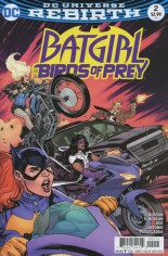 Batgirl and the Birds of Prey (2016-Present) #2 Variant A