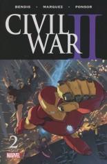 Civil War II (2016) #2 Variant I: 3rd Printing