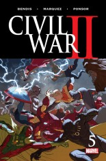 Civil War II (2016) #5 Variant A