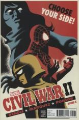 Civil War II (2016) #5 Variant B