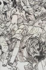 Civil War II (2016) #5 Variant C: Black & White Virgin Connecting F Cover
