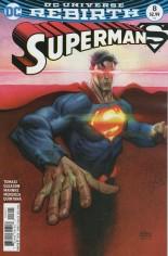 Superman (2016-2018) #8 Variant B: Variant Cover